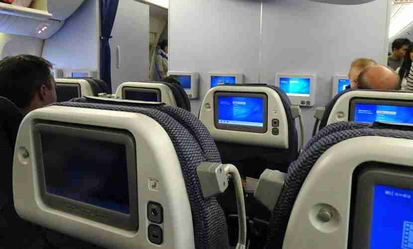 There are only three rows of Premium Economy.