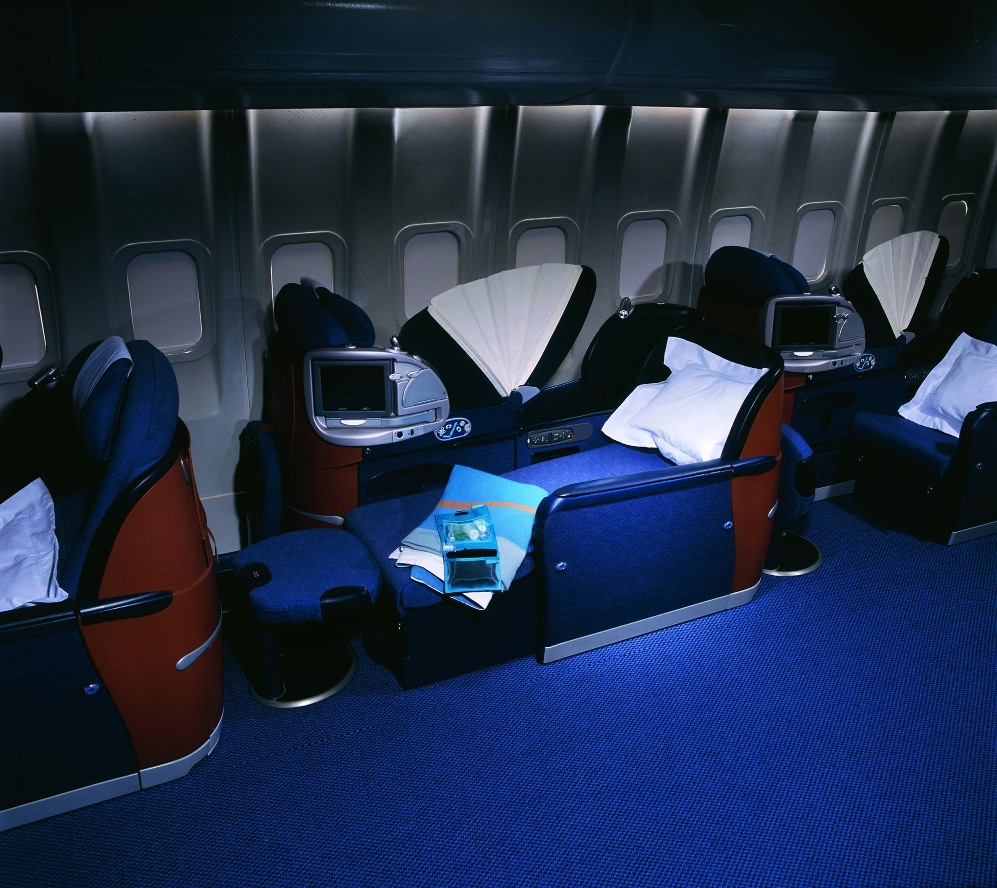 A History of British Airways' Business-Class Seat