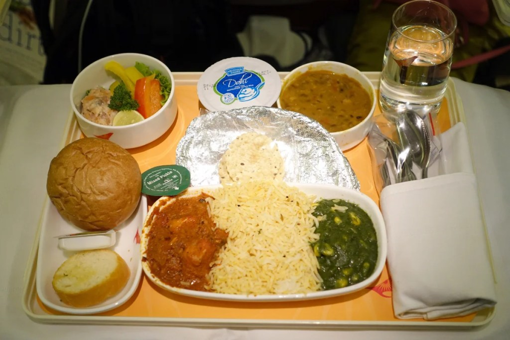 Air India Express Food Menu
