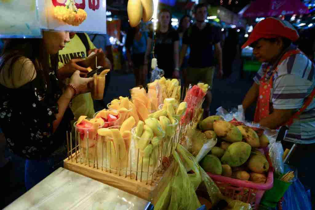 Eat, drink and shop at JJ Green Night Market. Photo courtesy of NurPhoto via Getty.