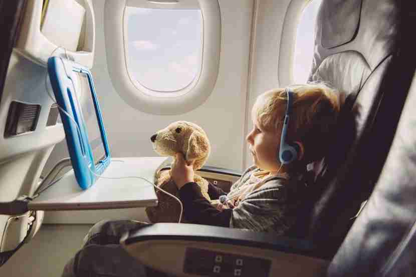 Most TPG Lounge readers agreed that kinds are fine anywhere on the plane as long as they are well behaved. (Photo by Westend61/Getty Images).