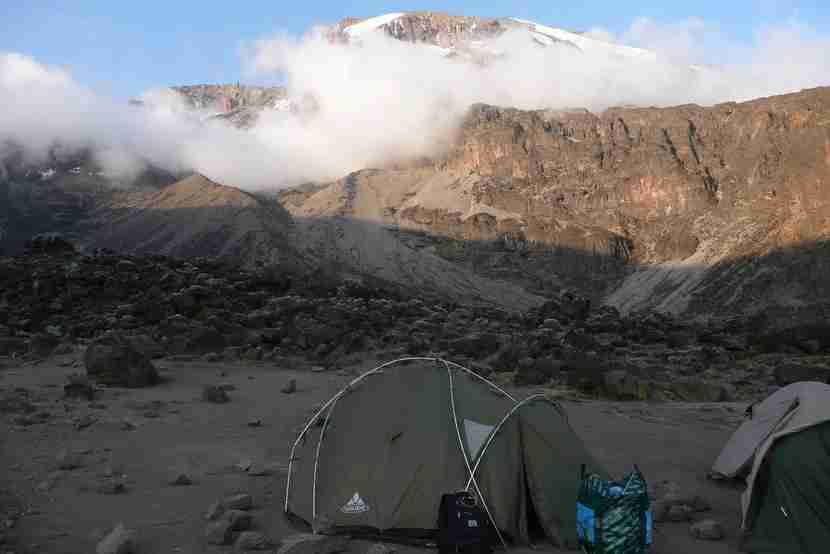 Views on the Macheme route make the tent camping worth it.