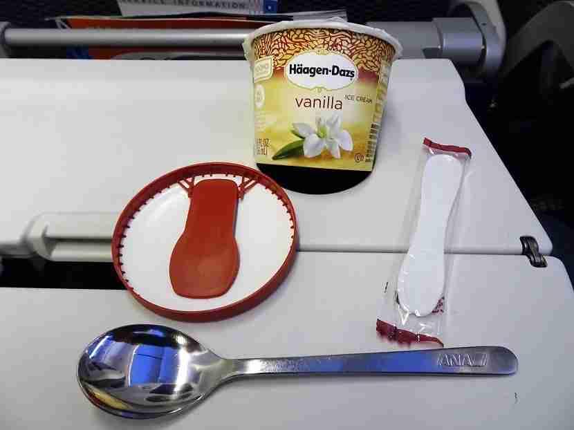 Ice Cream & 3 Spoons