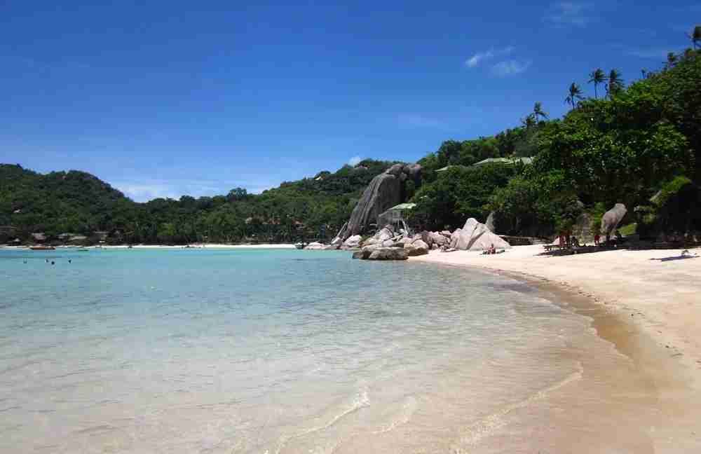 A beach in Koh Tao. Photo by Lori Zaino.