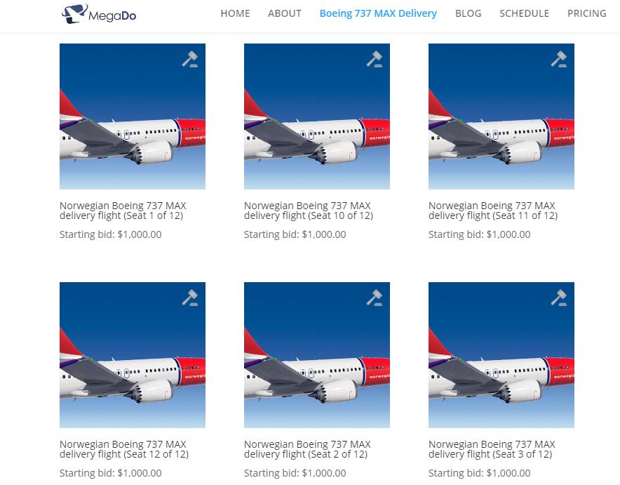 MegaDo Norwegian 737 MAX