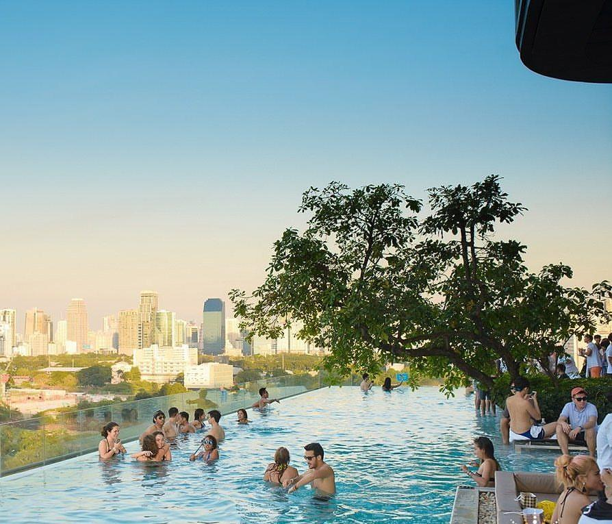 Make sure your Bangkok hotel has a pool. Photo courtesy of So Pool Party Facebook page.