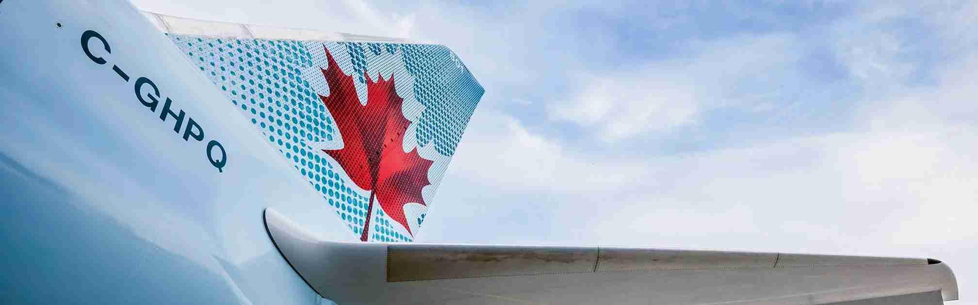 courtesy of Air Canada