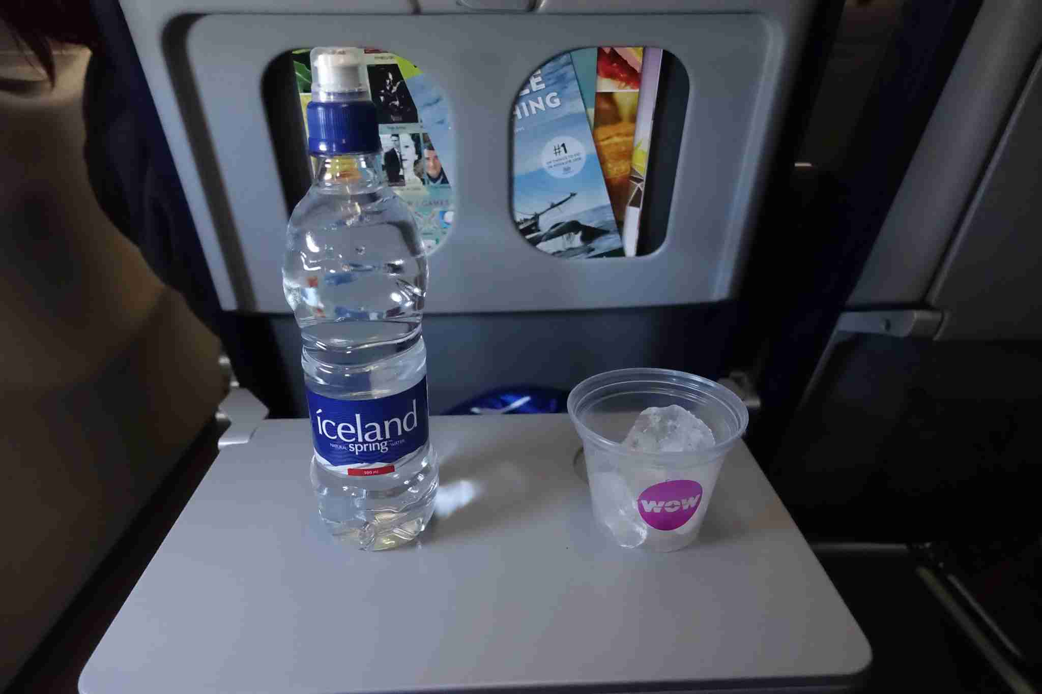 wow air water