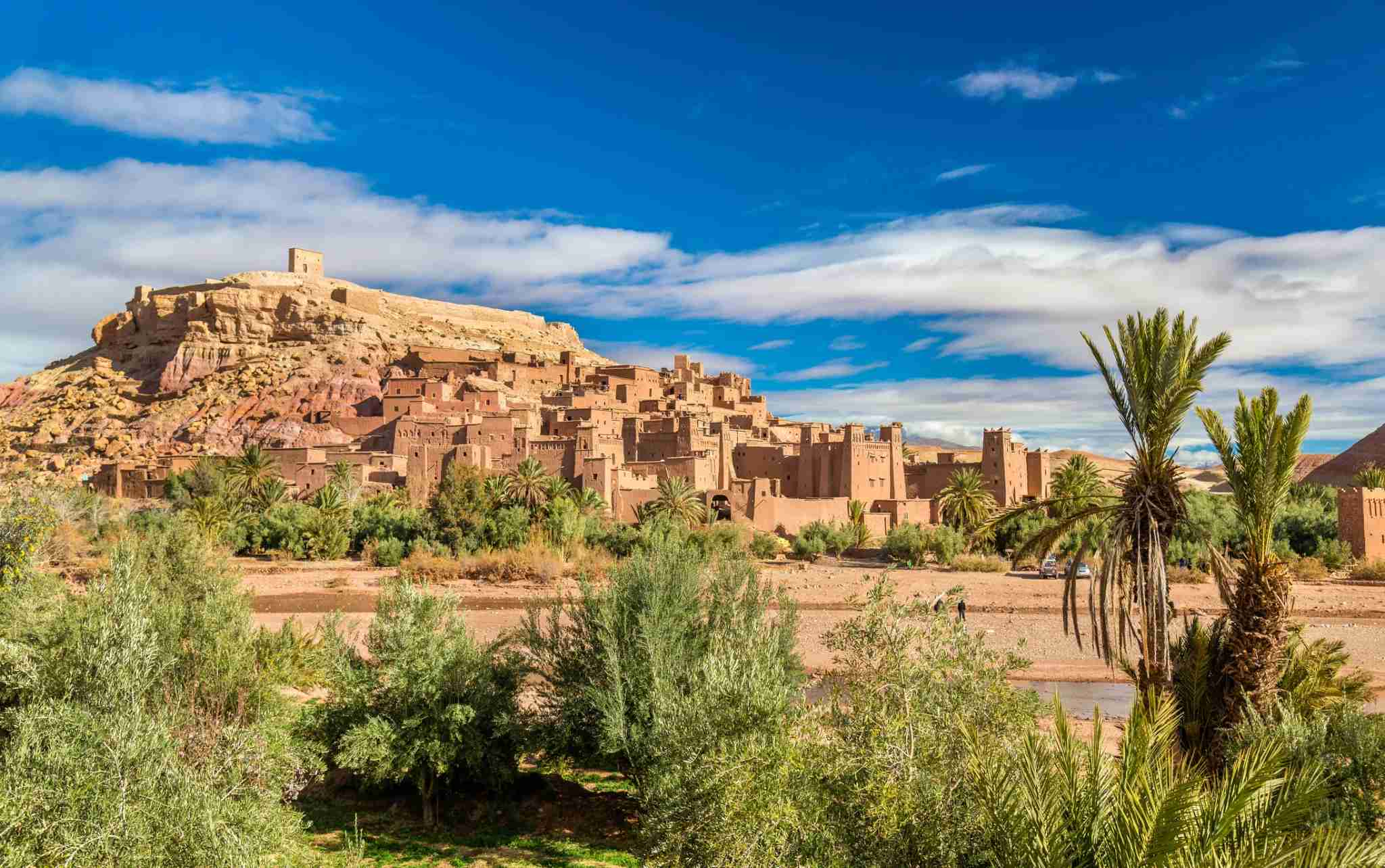 Ait-Ben-Haddou, otherwise known as the GOT city of Yunkai. Image courtesy of Leonid Andronov via Getty Images.