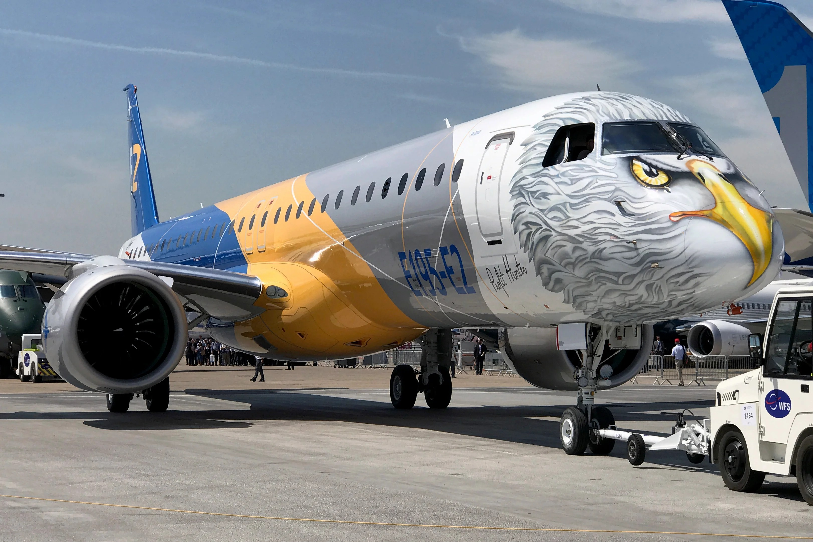Meet The E195 E2 Profit Hunter Embraer S Largest Jet To