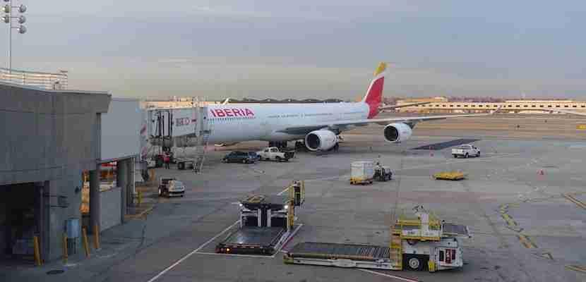 Iberia A340 feat