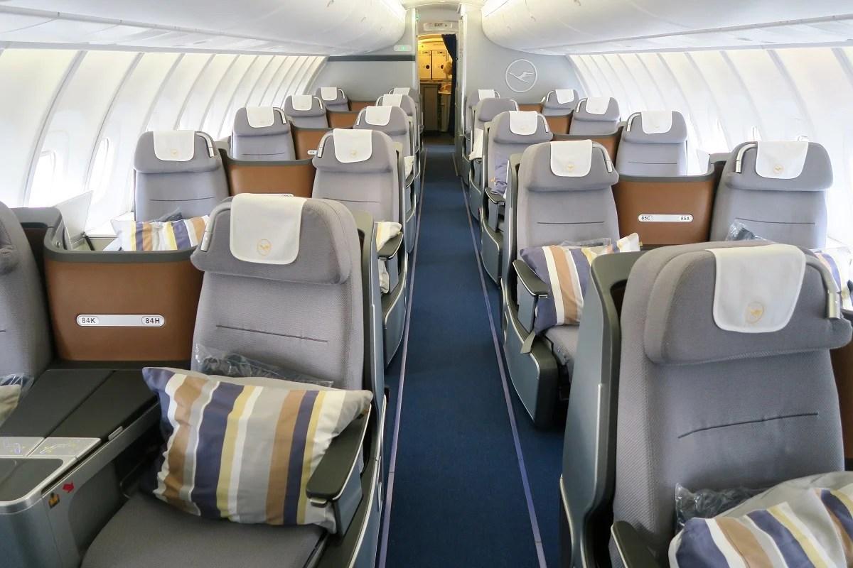 Flight Review Lufthansa 747 8 Business Dc To Frankfurt