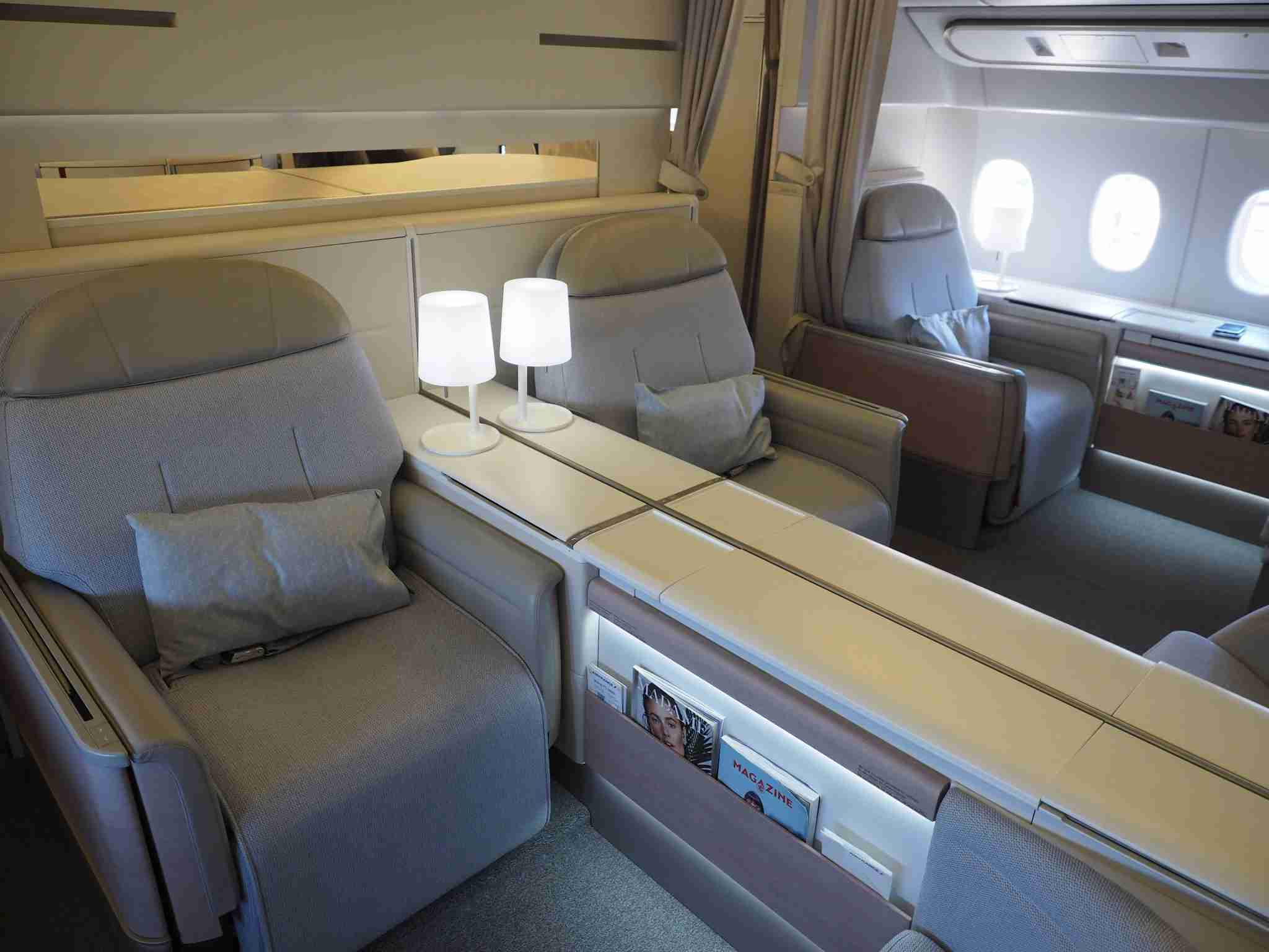 Air France first class 777