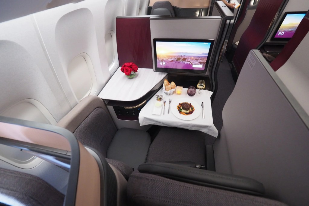 First Look Qatar Airways Qsuite Business Class