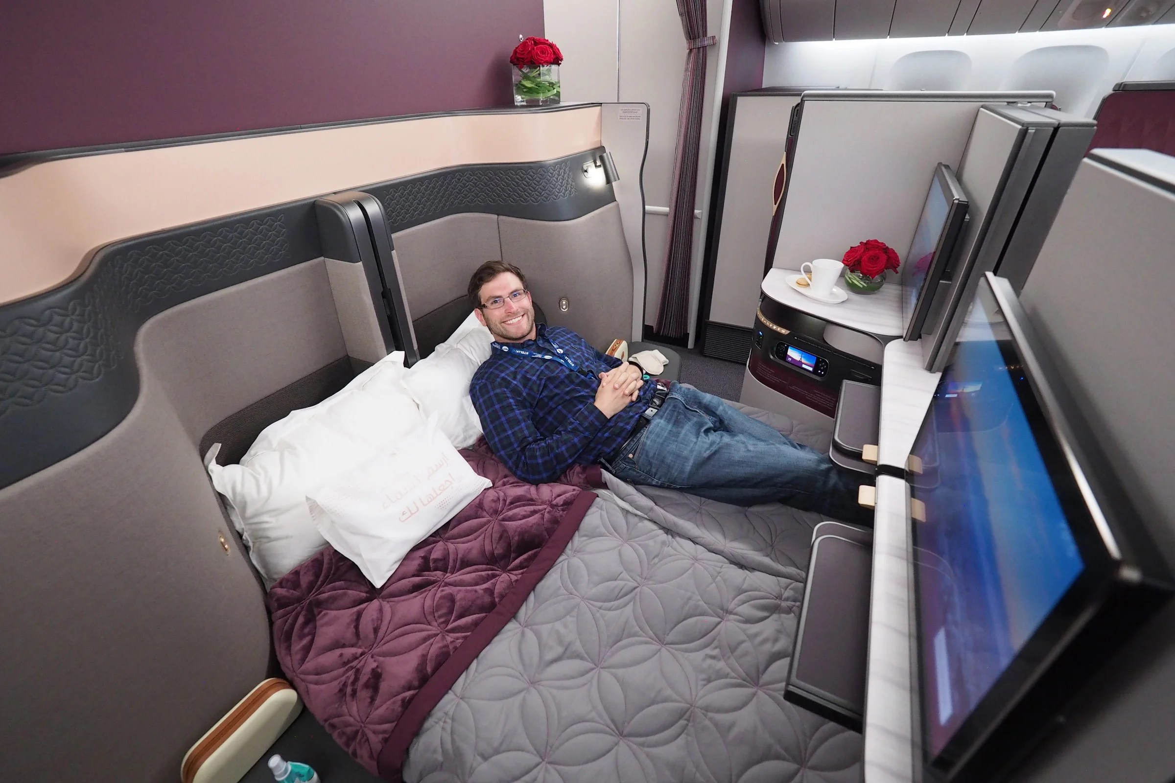 7 Reasons I Think Qatar Qsuite Is The World S Best Biz Class