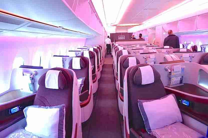 Qatar A350 cabin 1