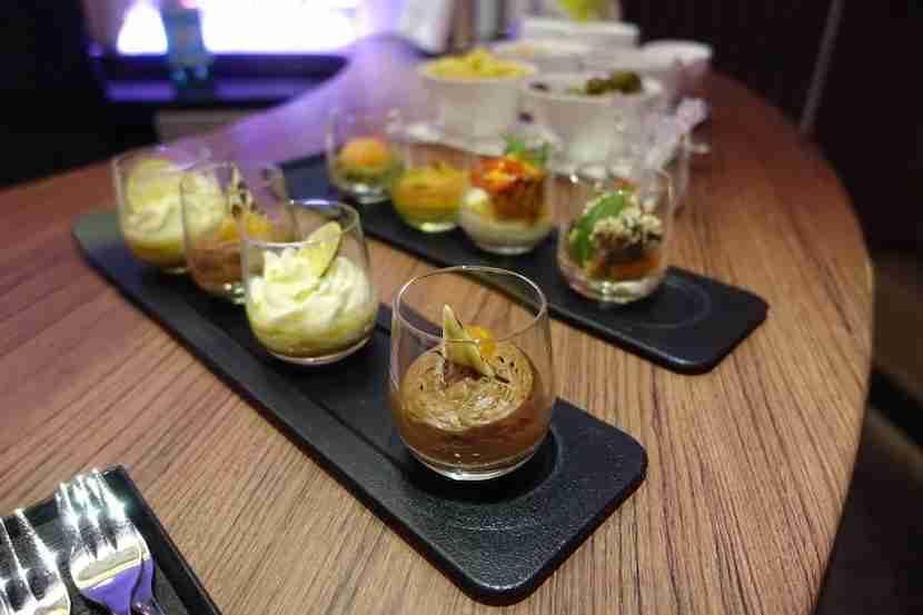 Qatar bar snacks