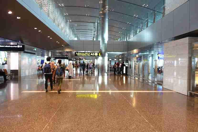 Qatar gate A5