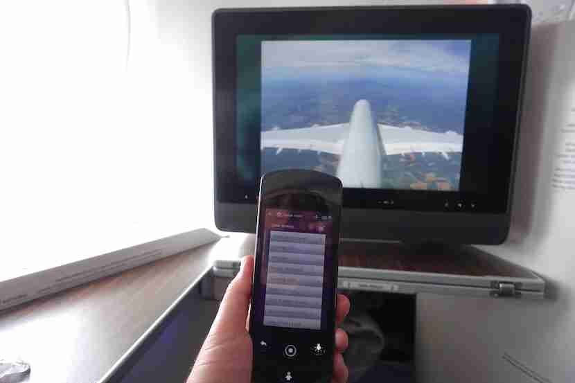 Qatar remote screen