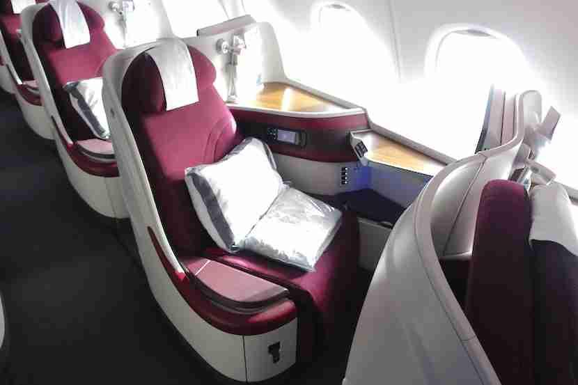 Qatar seat 1