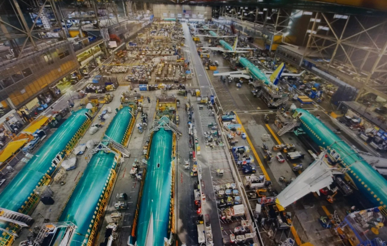 Take A 360 Degree Vr Tour Of Boeing S 737 Factory
