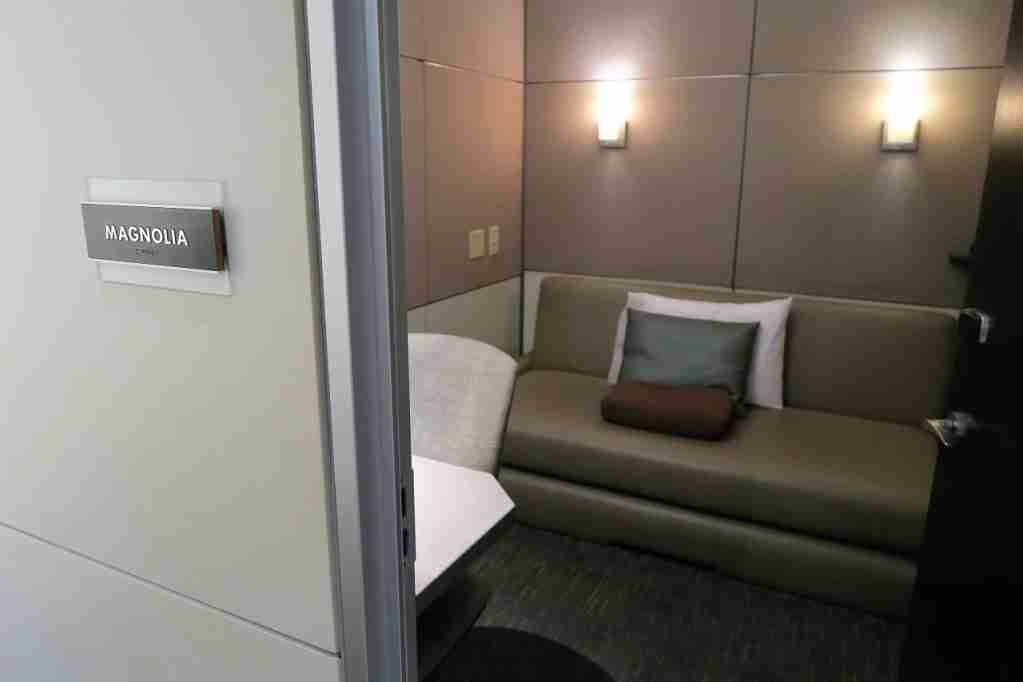 Photo of the Atlanta Concourse B Minute Suites location. (Photo by JT Genter / The Points Guy)