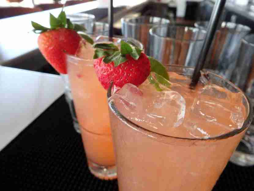 The Co-Pilot Strawberry Mule was the perfect summer refresher.