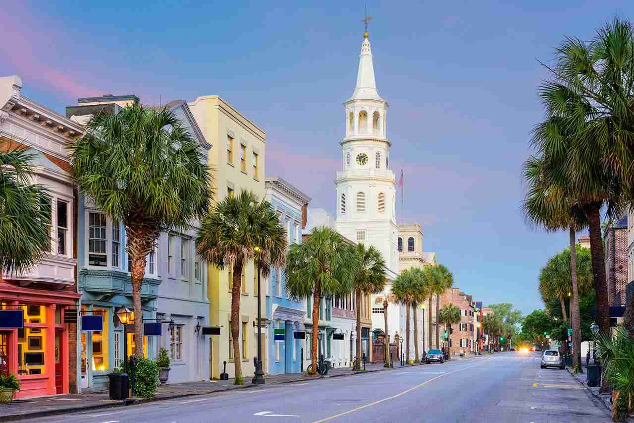 Charleston, South Carolina, USA in the French Quarter. (Photo by SeanPavonePhoto / Getty Images)