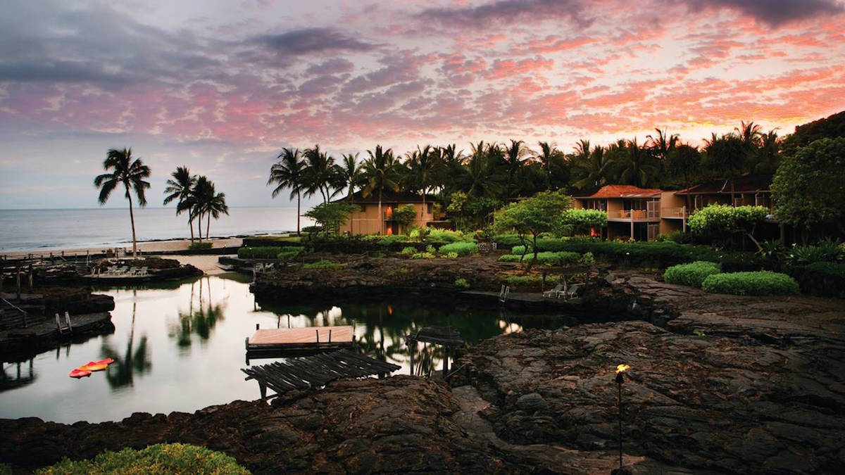 Image courtesy of Four Seasons Resort Hualalai.