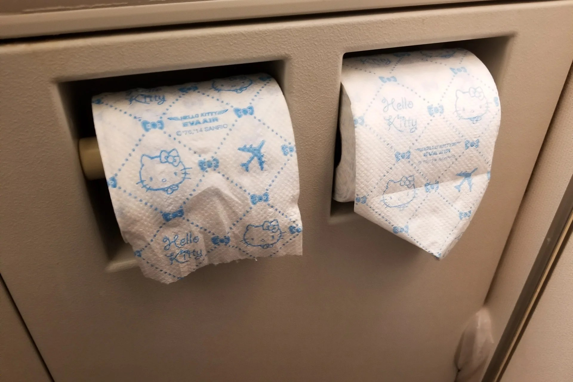 Flight Review Eva Air Hello Kitty 777 300er Economy