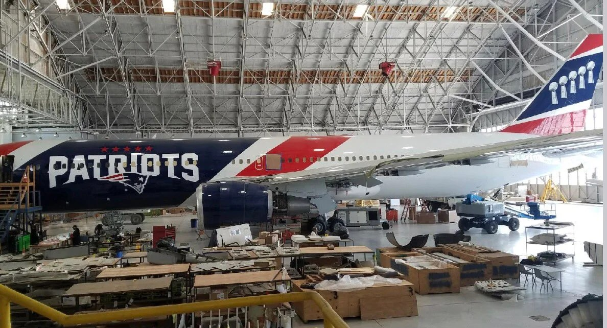 Patriots Become First NFL Team To Own Its Own Fleet