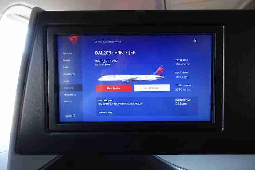 Delta 757 flight info