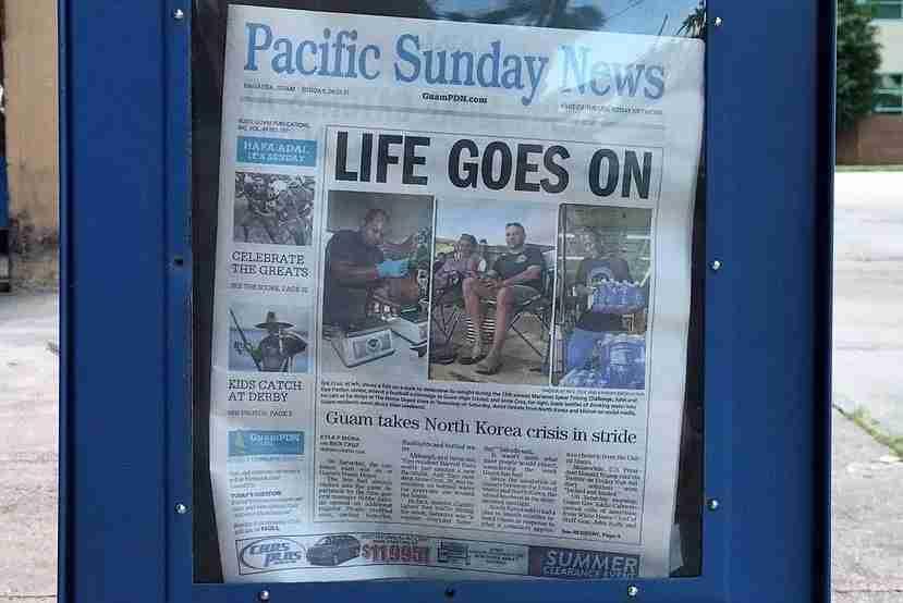 Guam newspaper