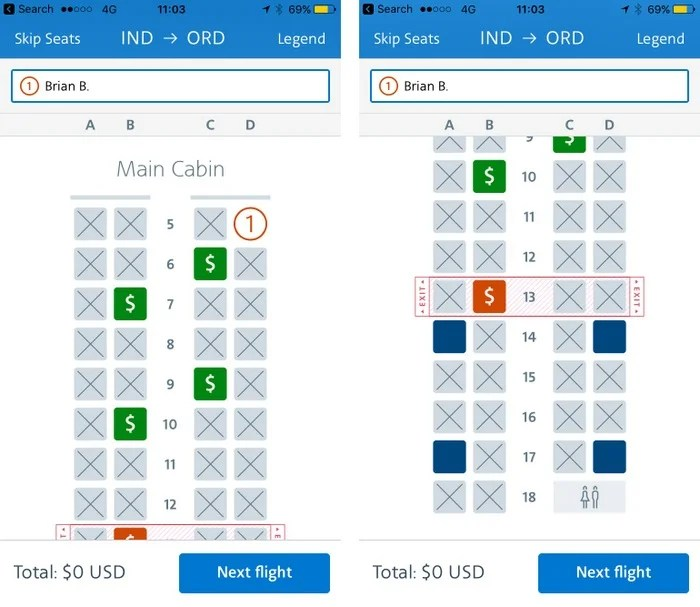 Want an Upgrade to a Better Seat on AA? Don't Select a Seat