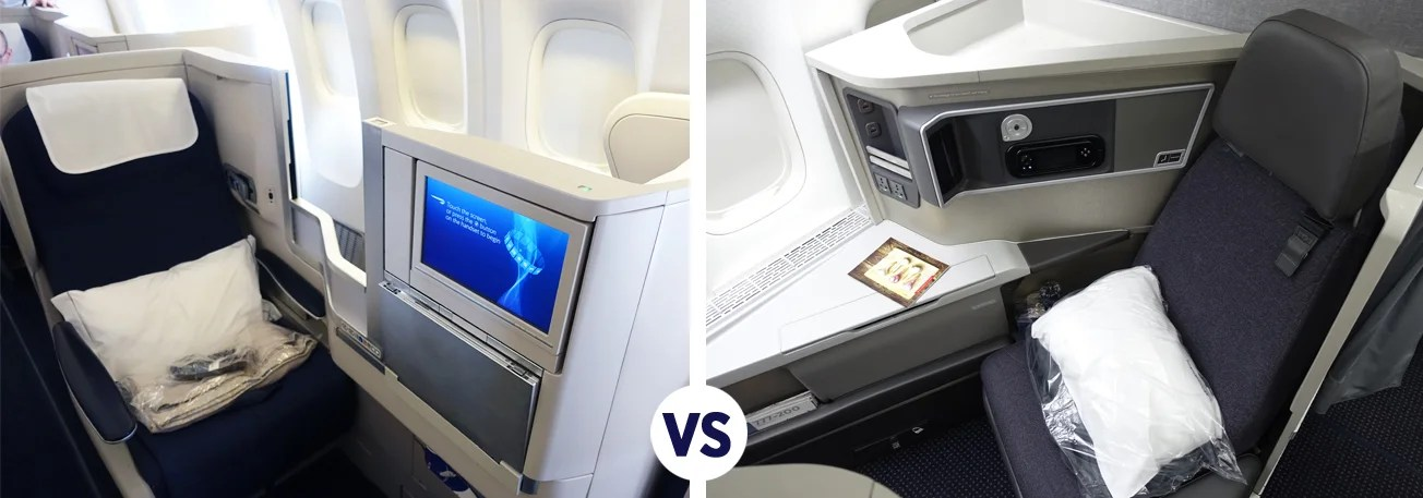 Business Class Battle British Airways Vs American Airlines