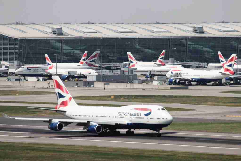 British Airways Boeing 747 takes off at London Heathrow, UK, 25 May 2010(Picture by Nick Morrish/British Airways)