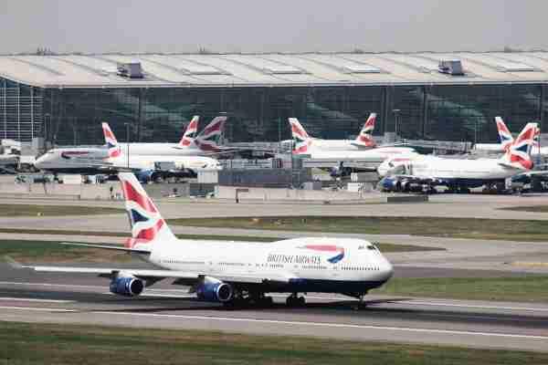 British Airways Boeing 747 takes off at London Heathrow, UK, 25 May 2010 (Picture by Nick Morrish/British Airways)
