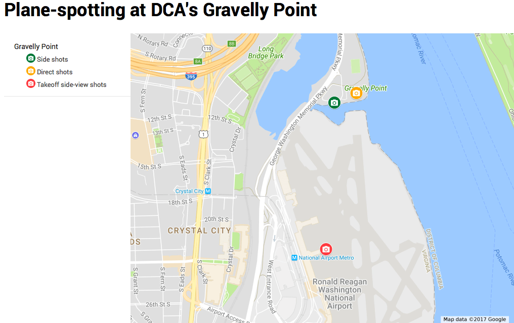 How I Became an AvGeek in a Week: Spotting Airplanes at DCA Dca Gate Map on