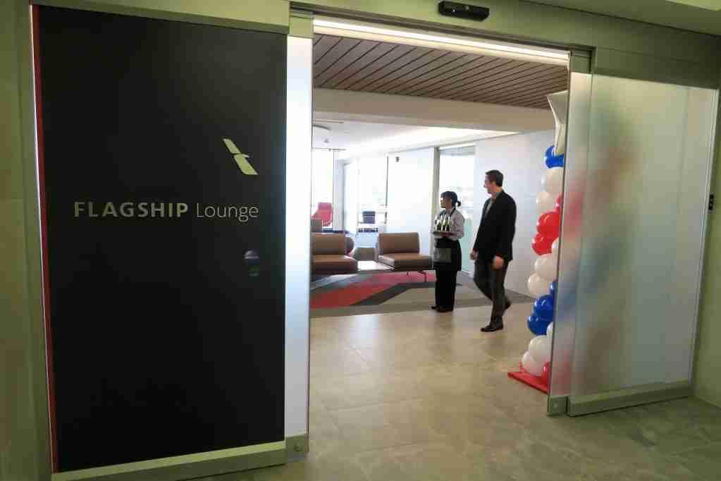 AA ORD Flagship Lounge - entrance