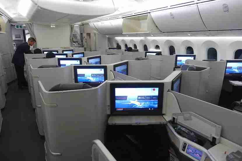 Air Canada cabin back 2