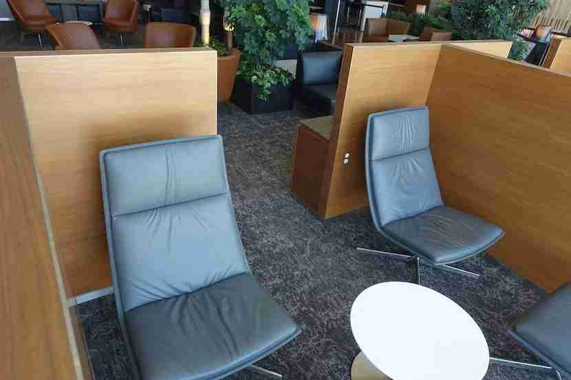 Air Canada lounge lounge chairs