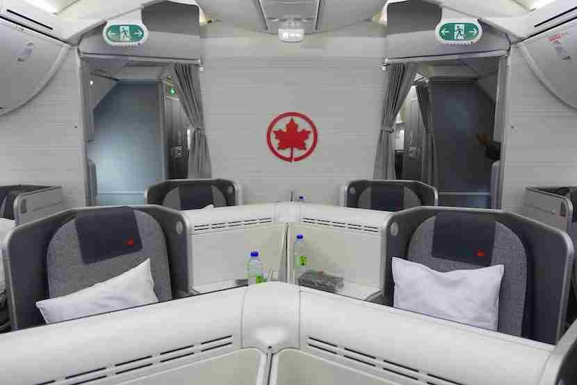 Air Canada middle seats good
