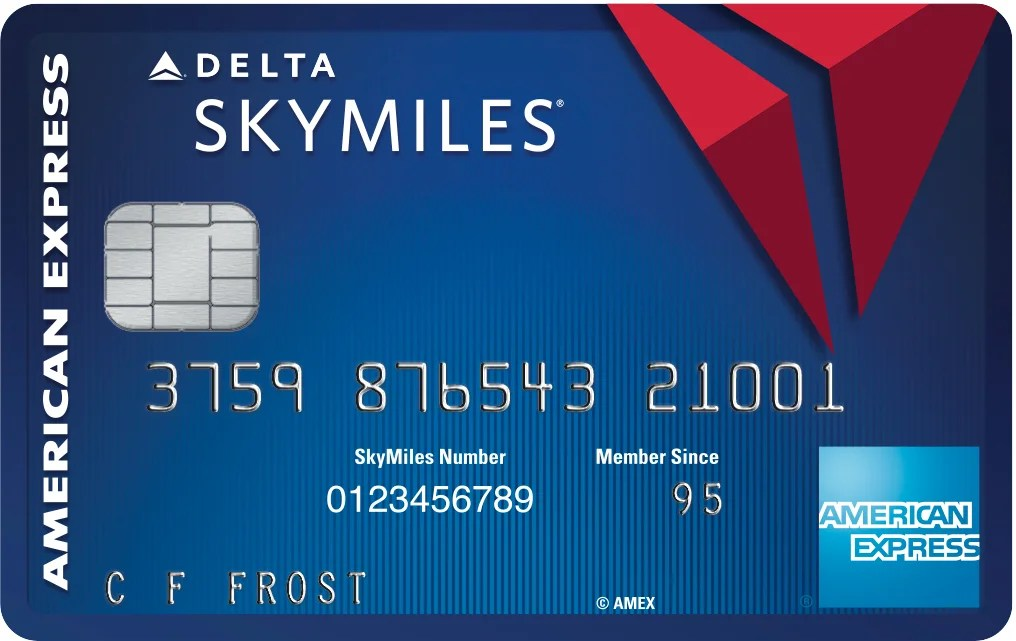 New No-Fee Blue Delta SkyMiles Credit Card From Amex