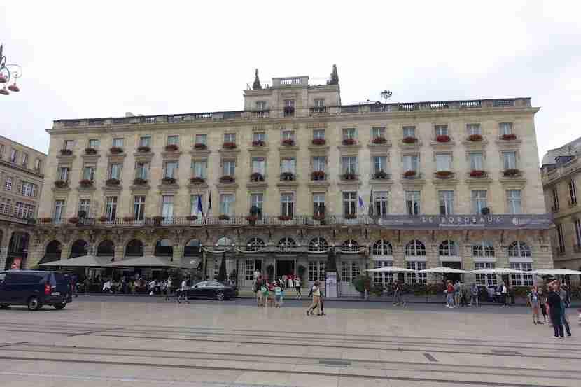 Intercontinental Bordeaux exterior