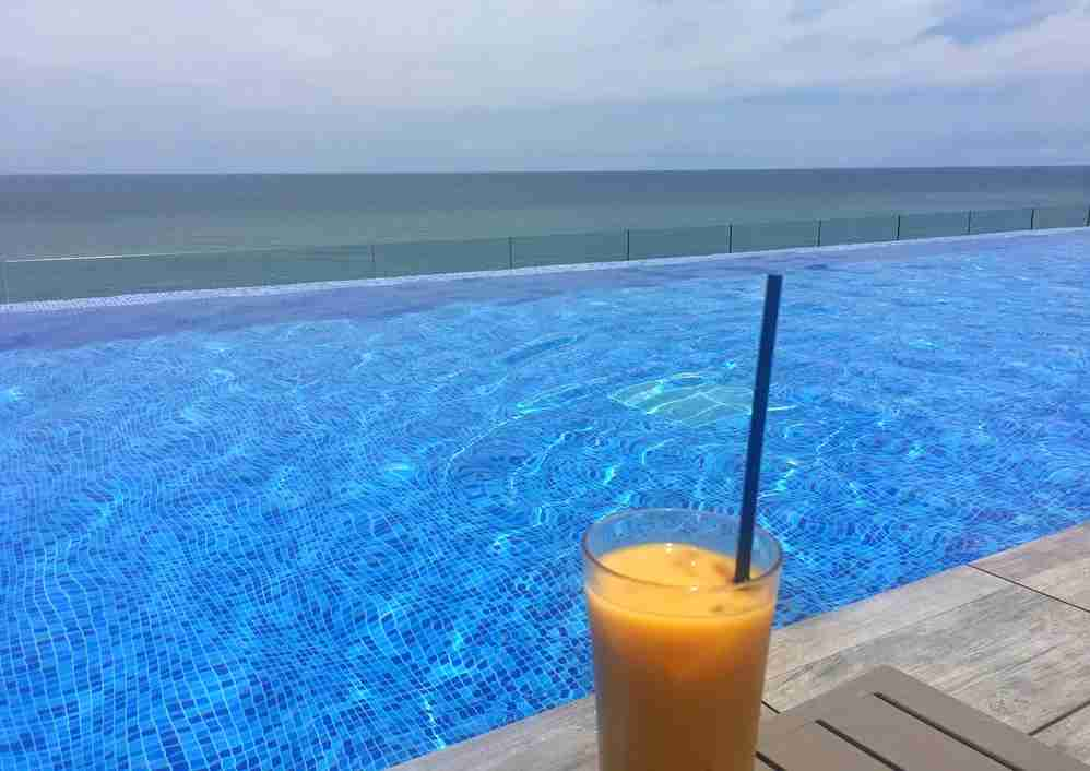 Poolside Mango Juice