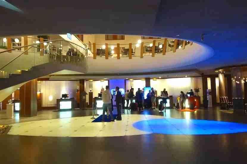 Radisson Blu Royal Viking lobby