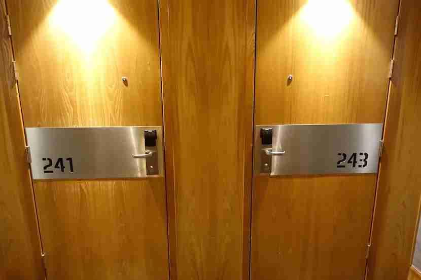 Radisson Blu Royal Viking room door
