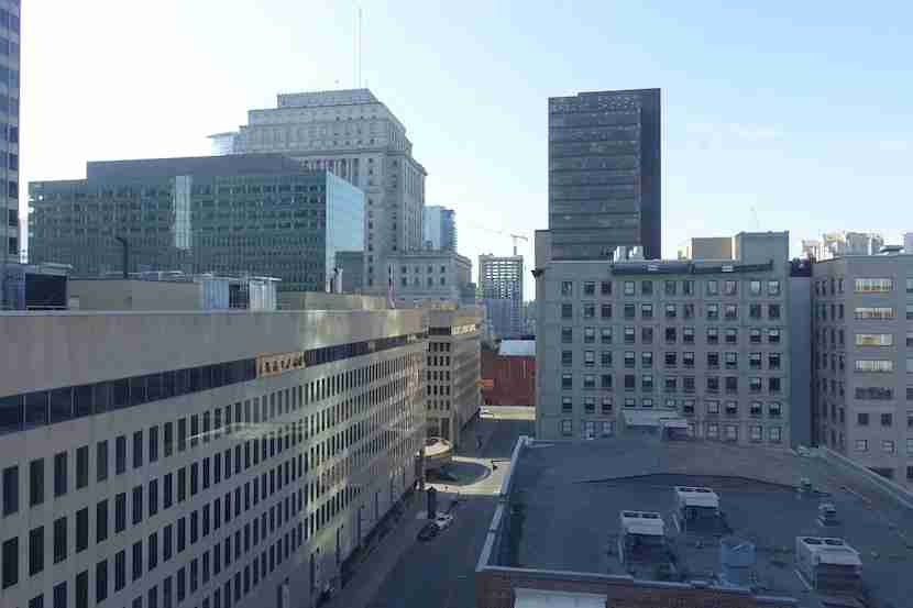 Renaissance Montreal room view 1