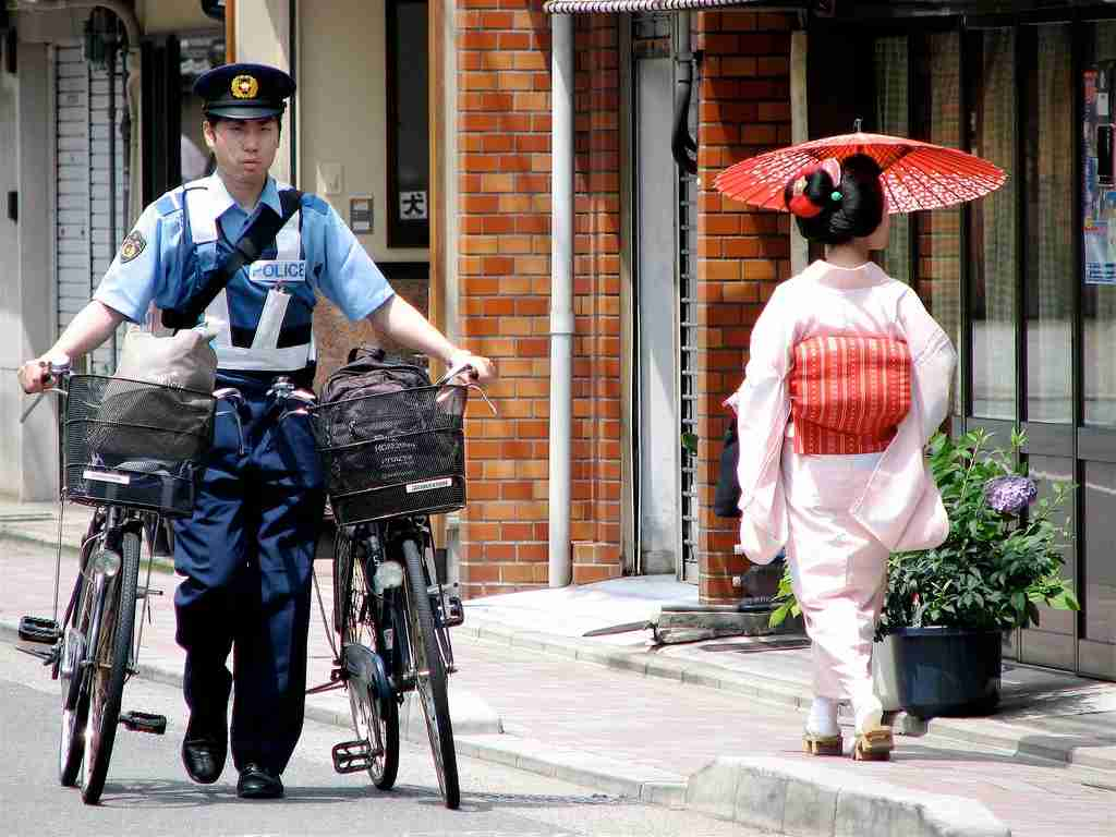 """Kyoto is haven for bicyclists. You may even find a local with one to spare. Image courtesy of ThisParticularGreg via Flickr and used under<a href=""""https://creativecommons.org/licenses/by-sa/2.0/""""><em>Creative Commons license</em></a>."""