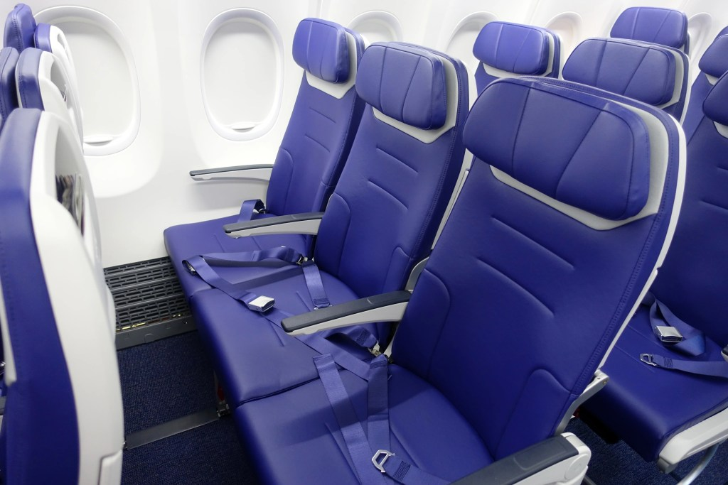A First Look Inside Southwest's Boeing 737 MAX 8